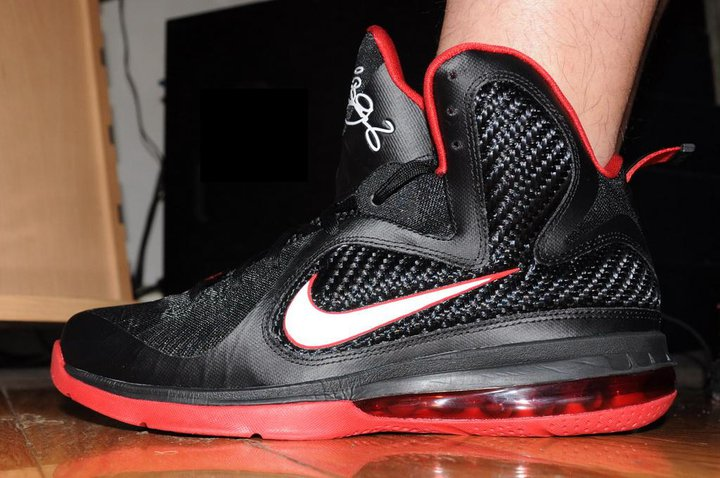 outlet store 216b5 5418c ... LeBron 9 Quotes James8217 Favorite Movie 8220Gladiator8221 New Photos.  blackgladiatornike lebron 9redwhite