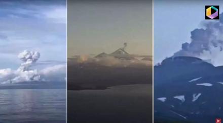 Αλάσκα : Προβληματίζει τους επιστήμονες που τρία ηφαίστεια εκρήγνυνται ταυτόχρονα - Ακόμα ένα ηφαίστειο είναι στα πρόθυρα