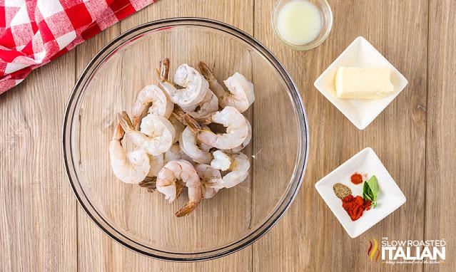 Smoked Shrimp Ingredients