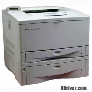 Free download HP LaserJet 5000gn Printer driver and setup