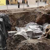 2010.11.17 Római romok a Tűztorony lábánál