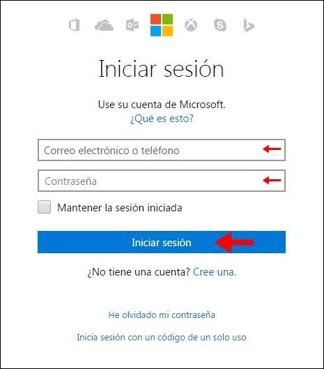 Iniciar sesion Hotmail - 8