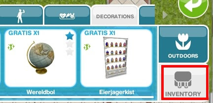 Sims FreePlay - Place the Egg Hunter's Case