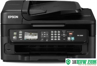 How to Reset Epson PX-535F flashing lights error