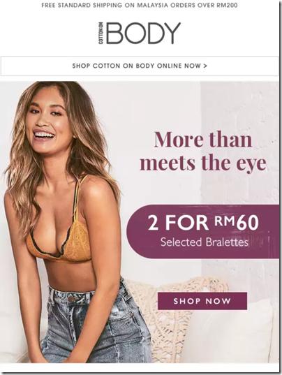 Cotton On Body Promo