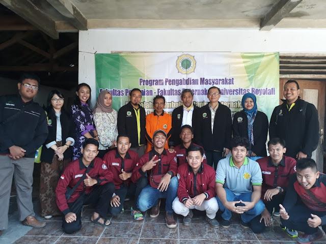 PPM Universitas Boyolali, Pengolahan Limbah Pertanian dan Peternakan Menuju Sistem Pertanian Terintegrasi di Tambong Wetan