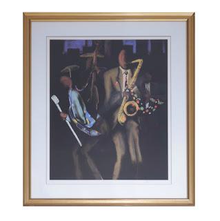 Signed 'Tye Bob II' Jazz Print