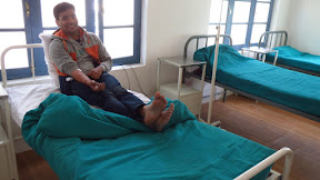 Sourabh at Primary Health Care, Bagso