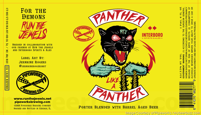 Pipeworks, Run The Jewels & Interboro Collaborate On Panther Like A Panther
