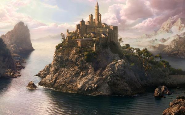 Silent Landscape Of Deep, Fantasy Scenes 2