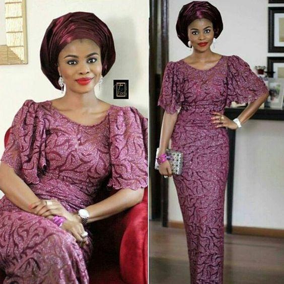 Latest 2018 aso ebi styles ideas for Wedding | Fashion Qe