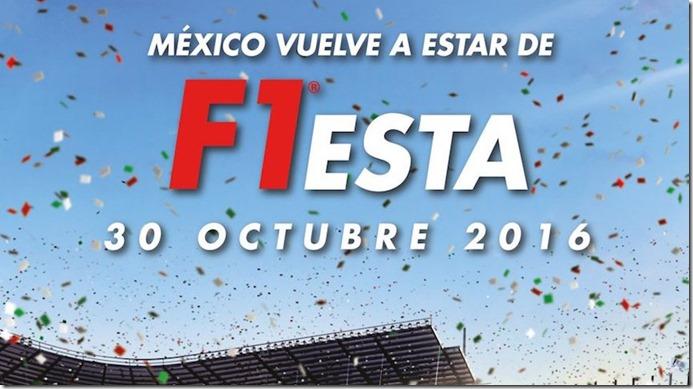 Formula 1 Mexico Domingo 30 de Octubre de 2016 boletos baratos economicos precios y fechas programadas