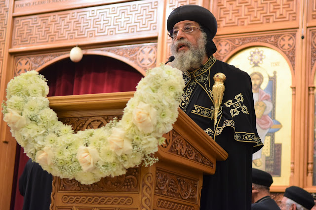 His Holiness Pope Tawadros II visit to St. Mark LA - DSC_0271.JPG