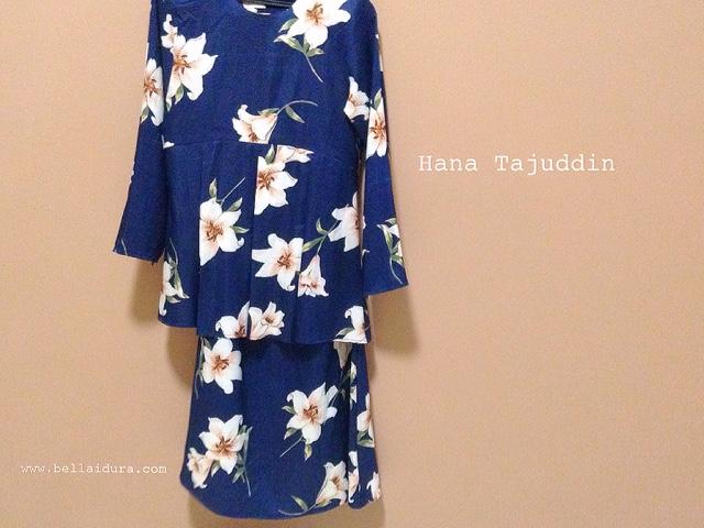 Hana Tajuddin, Baju murah, baju raya cantik