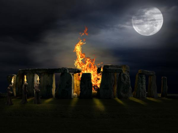 The Druids By Pygar, Celtic And Druids