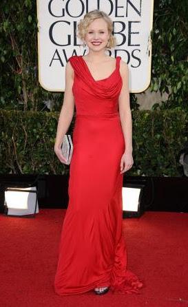 Golden Globe 2013 - Alison Pill