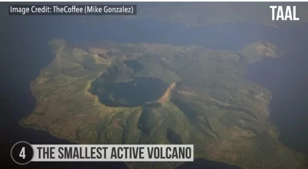 The Smallest Active Volcano