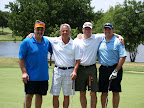 Mike Altier, Kevin Magee, Chet Thompson, Robert Finn (2011 MMOW Golf Tournament Chair)