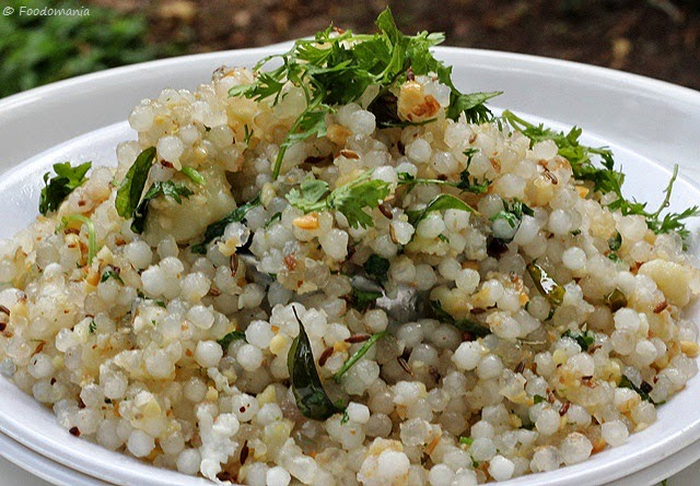 Image result for sabudana khichdi