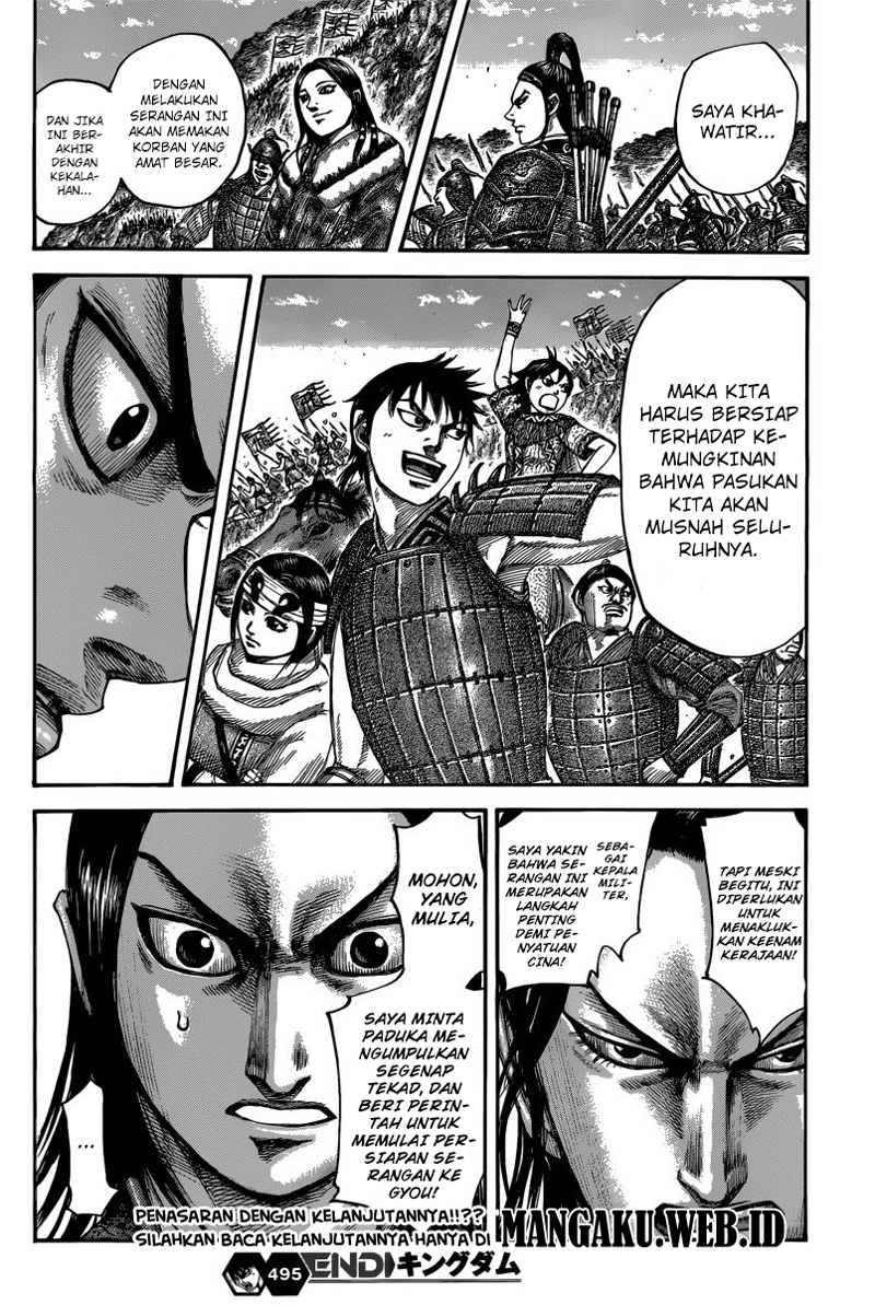Baca Manga Kingdom Chapter 495 Komik Station