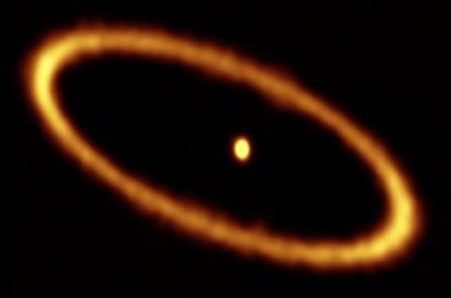 disco de detritos no sistema estelar Fomalhaut