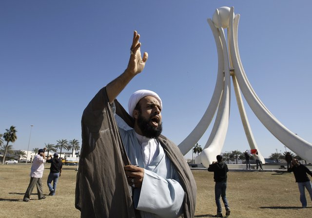 Bahrain - protesting cleric