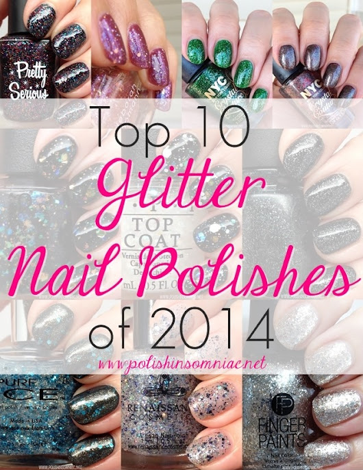 The Top 10 Glitter Nail Polishes of 2014