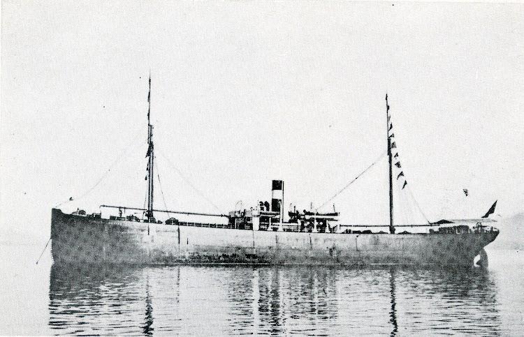 Llegada del PEÑA ANGUSTINA a Santander. 1899. Del libro La Marina Cantabra. Desde el Vapor. Vol III..jpg