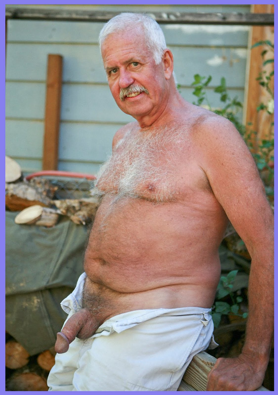 Older granpa gay nude