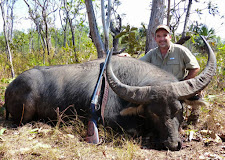 Larry Pechal USA with a great bull of around 99SCI. Larry shot the bull multiple times with my 470 NE! Sometimes they are tough, damn tough!