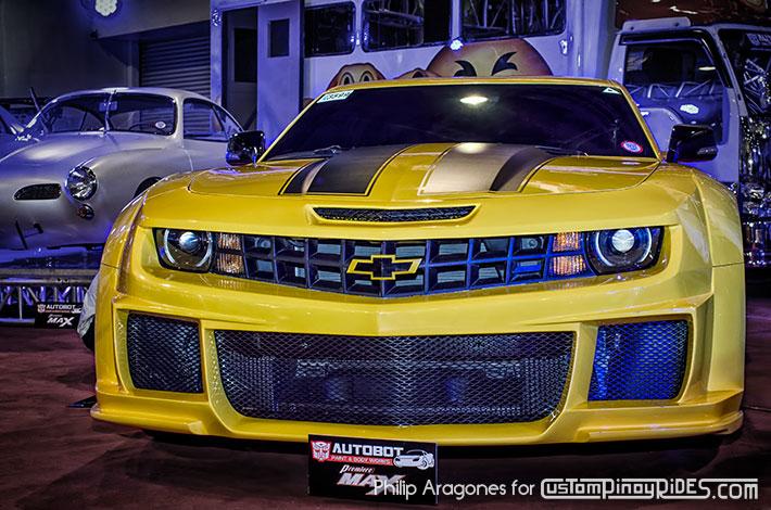 Bomex Widebody Bumblebee Camaro by Autobot Autoworks Custom Pinoy Rides Philip Aragones