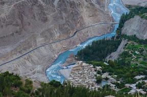 Altit fort, Hunza River, and KKH