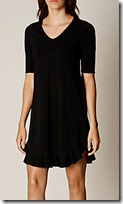 Karen Millen ruffled knit dress
