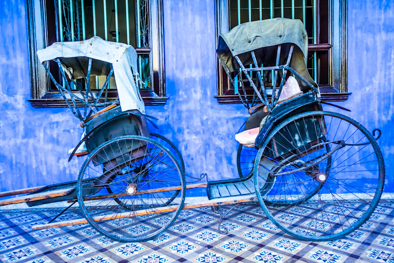 Penang Cheong Fatt Tze Mansion (Blue Mansion) rickshaw7
