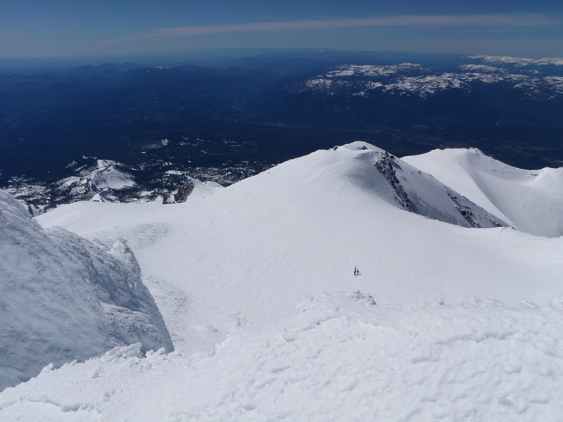 Mount Shasta • Summit