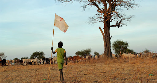 "Grazing and land rights are key issues for those who live in Abyei [EPA]  Source:  Aljazeera <a href=""http://english.aljazeera.net/news/africa/2010/08/201082173514768670.html"">Q&A: Sudan's Abyei dispute</a>  <a href=""http://english.aljazeera.net/focus/2009/07/200972281422955586.html"">Abyei tribes fear losing land</a> Posted to http://sudanwatch.blogspot.com 23 August 2010"