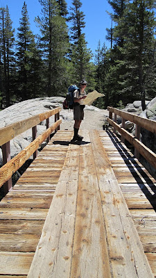I'm almost sure this is the bridge! grin. Navigation once again saves the day.©http://backpackthesierra.com
