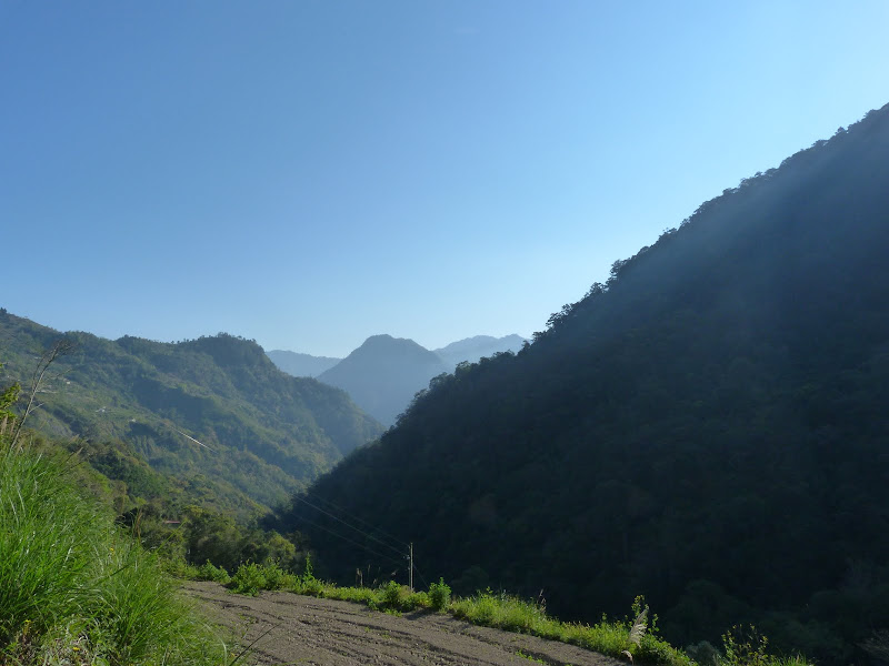 environ  1600 mètres d'altitude