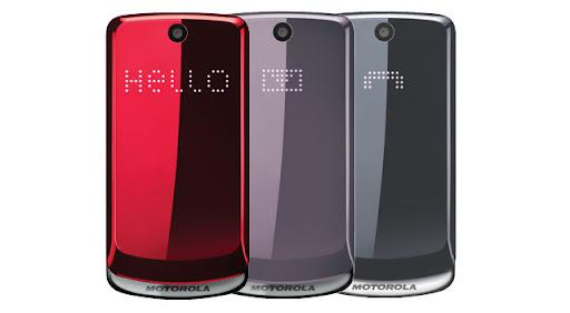 Motorola Gleam colores