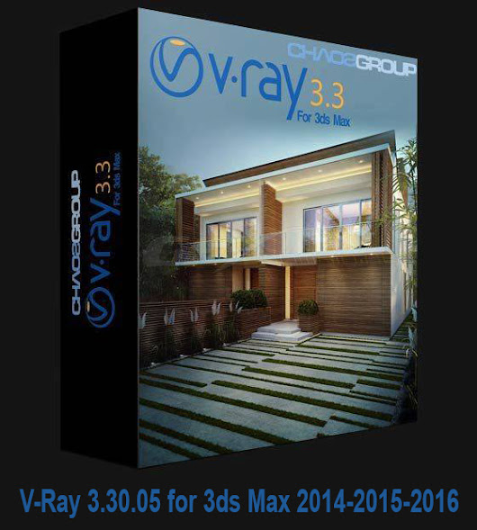 [ Plug-ins ] V-Ray 3.30.05 for 3ds Max 2014-2015-2016.