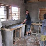 Aanrecht metselen keuken project