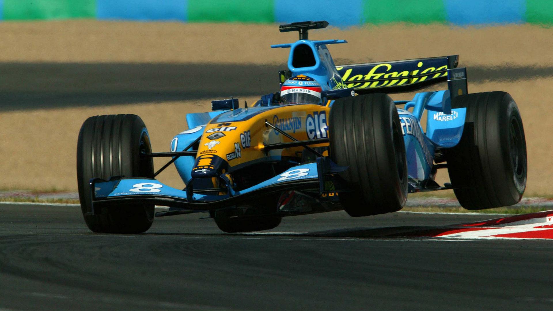 Fernando Alonso Renault R24