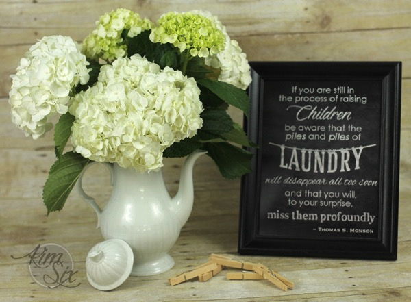 Laundry Room Printable Chalkboard Art