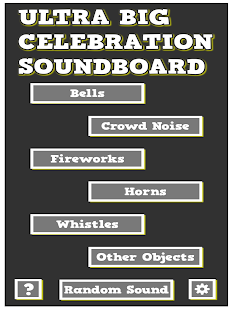 Ultra Big Celebration Soundboard - Sound Effects- screenshot thumbnail
