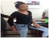 Mujer es detenida cuando trato de ingresar estupefacientes a una celda en Bonao
