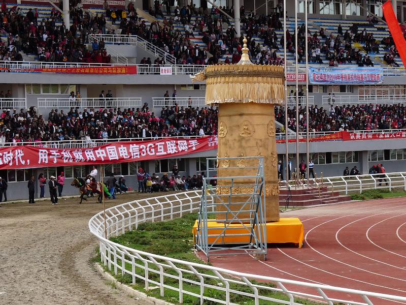 Chine. Yunnan.Shangri la Course hippique annuelle - P1250712.JPG