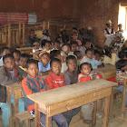 Une des deux salles de classe