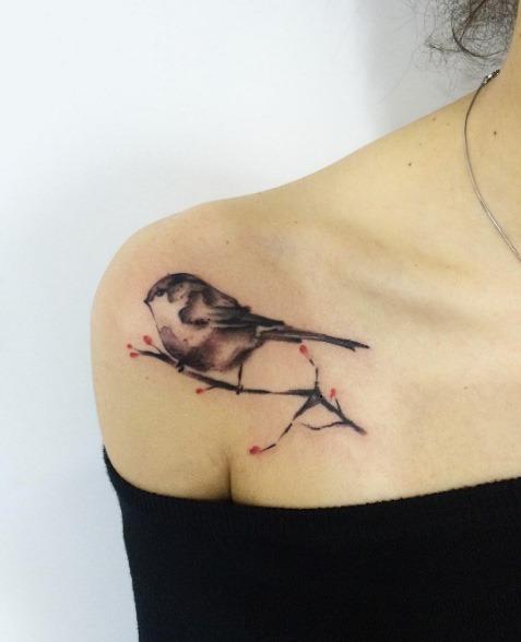 este_adorvel_aquarela_songbird