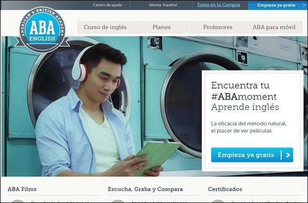 Abrir mi cuenta ABA English
