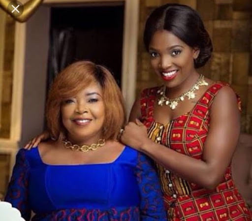 For every lie against you, karma is real. You're the reason I still have a career - Annie Idibia says as she celebrates her mother (video)